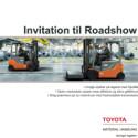 Invitation til Roadshow ved Toyota Material Handling
