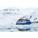Expeditionsfaryget M/S Quest på Svalbard