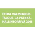 Etera Valmennus: Talous- ja palkkahallintopäivä Helsingissä