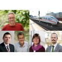 PRESSINBJUDAN - Höghastighetslunch med Norges enda gröna riksdagsledamot