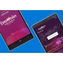 Lumia 535 bakom kulisserna på Eurovision Song Contest