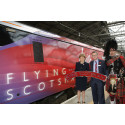 SCOTLAND FIRST MINISTER LAUNCHES VIRGINS FLYING SCOTSMAN