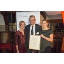 Kronprinsessan Victora delar ut Hjärnfondens Jubileumsanslag till Alzheimerforskning
