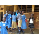 Våra tankar går till barnen i Uganda