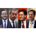 David Cameron, Ed Milliband, Nick Clegg and Nigel Farage receive Mistresses for the New Year?