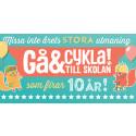 Vinnare i nationella utmaningen Gå & Cykla till skolan 2015!