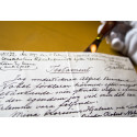 Alfred Nobel's last will and testament on public display for the first time