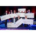 Barncancerfonden får 714 969 kronor från God El