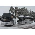 Nu rullar Vasaloppets nya miljöbussar