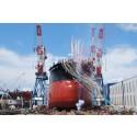 TSUNEISHI SHIPBUILDING Launching Ceremony in September