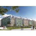 HSB byggstartar 116 lägenheter i Rynningeåsen, Örebro