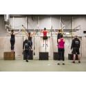 Träning med sektionen IKSU fitness på anläggningen IKSU sport