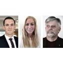 Gustav, Jennie och Boris är Videums studentstipendiater