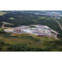 Med anledning av förhöjda utsläppsvärden från Kiruna avfallsanläggning