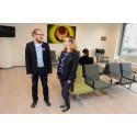 Nytt väntrum för sjukresenärer på Nus