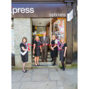 Tavistock Newly Refurbished Vision Express Store Opened By Local Glaucoma Association Representative