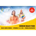 Svenska eliten på Beach Center i sommar
