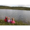 Unge drar mest på fisketur