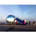 Estonian Air premiärflyger mellan Växjö och Amsterdam