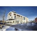 Paroc Built-On möjliggjorde fasaden på prisbelönta Skandionkliniken