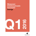 Manpower Arbetsmarknadsbarometer kvartal 1 2016