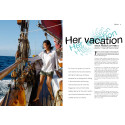 VEGA in Sea Yachting Sep-Oct 2010 Issue