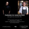 Farang gästar L´Abattoir i Vancouver