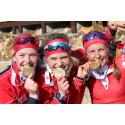 Norsk stafettgull i junior-VM!