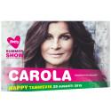 Carola till Sveriges roligaste mötesplats
