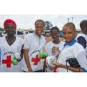 Röda Korset intensifierar kampen mot ebola