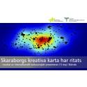 Skaraborgs kreativa karta har ritats - resultat av internationellt kulturprojekt presenteras 15 maj i Skövde