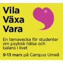 Vila Växa Vara – en temavecka för studenter om psykisk hälsa och balans i livet