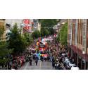 Välkommen över gränsen och Oslo Pride 2015