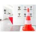Influenser, referenser och plagiat.  En utställning som kretsar kring Kraftwerks estetik.
