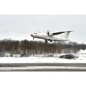 Nya utrikeslinjen mellan Vilnius och Bromma invigd