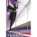 Franska Menu classique tar över Verandan