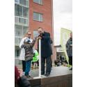 Bostadsministern invigde SABOs Kombohus Plus i Sundsvall