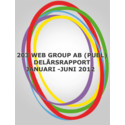203 Web Groups delårsrapport januari - juni 2012