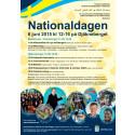 Nationaldagen 6 juni 2015 - affisch