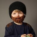 Beardo Kids - hue med skæg