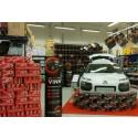 Coca-Cola zero lokker med bil i Rema 1000