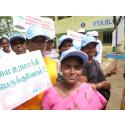 Anställda på Hand in Hand India i Tamil Nadu