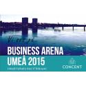 Concent talar på Business Arena Umeå