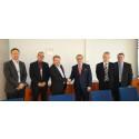 Empowerin ja Vattenfallin palvelusopimuksen allekirjoitustilaisuus