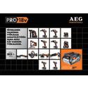 Uusi AEGn PRO 18V akkutyökalu järjestelmä