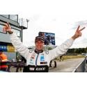 Fredrik Ekblom helgens vinnare i STCC – men Fredrik Larsson behåller ledningen