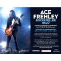 Møte Kiss legenden Ace Frehley sammen med Burton & Live Nation på Rockefeller i Oslo!