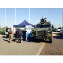 Scania på militærmesse
