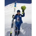 Helena Rapaport tog brons i super-G på Universiaden - studentidrottens motsvarighet till ett olympiskt spel