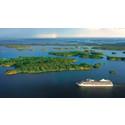 Det största fartyg som någonsin angjort Lysekils hamn  - kryssningsfartyget m/s Marina, kommer till Lysekil sommaren 2014
